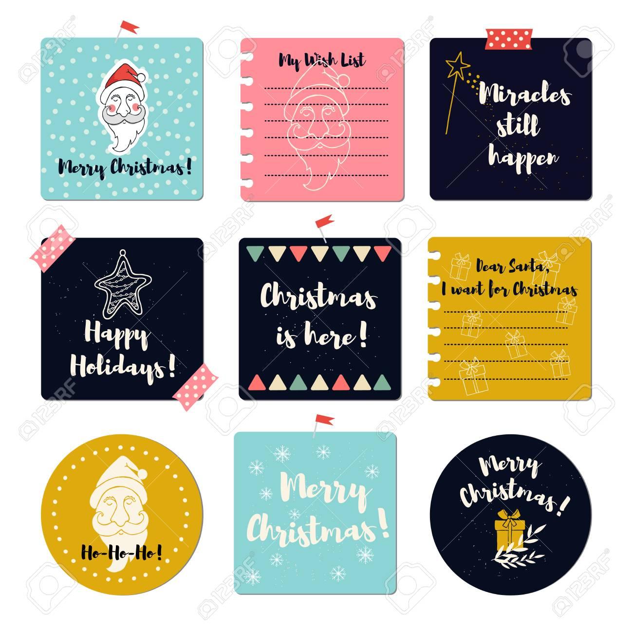 Merry Christmas Greeting Cards Season Greeting Cards Templates
