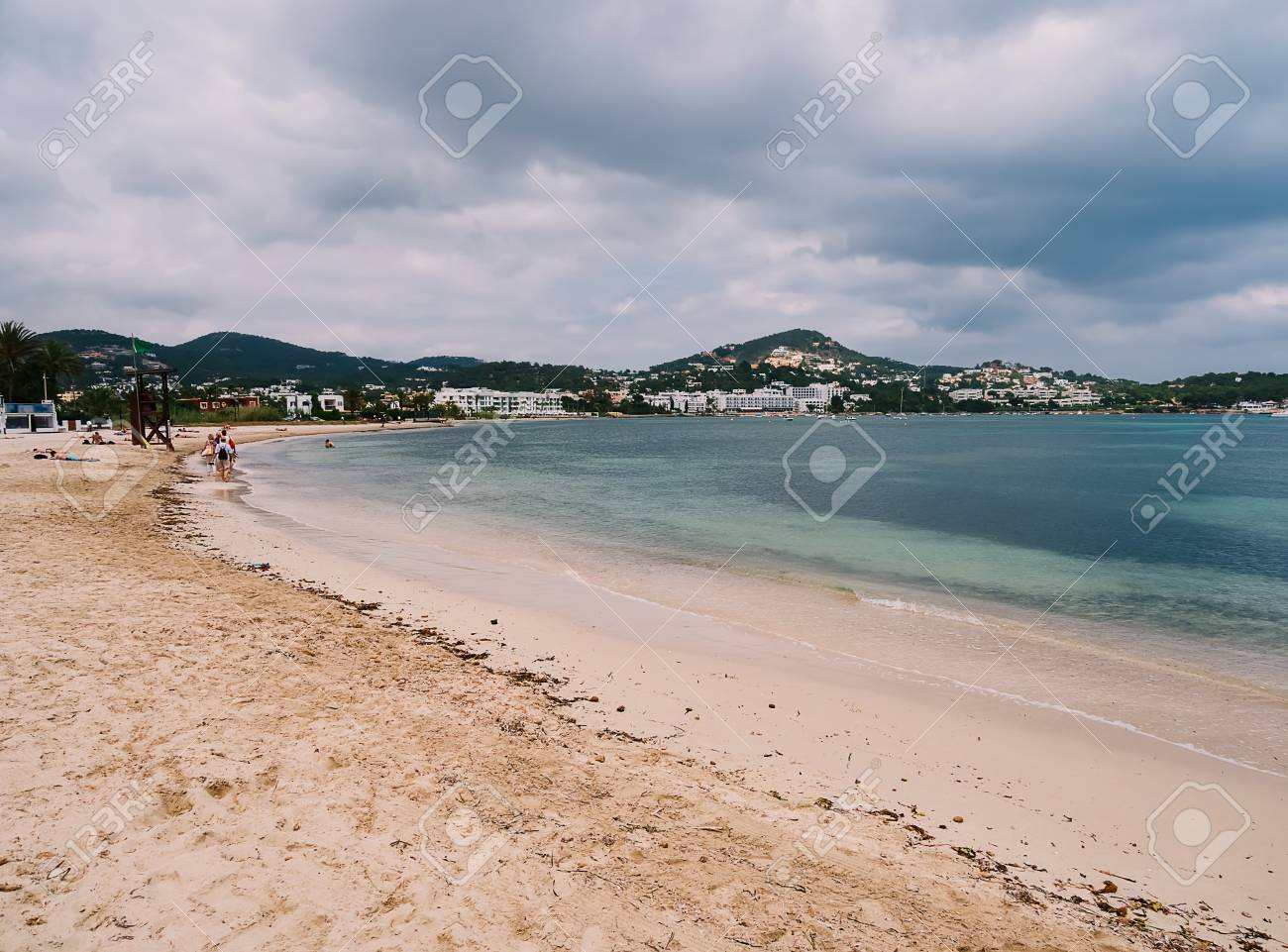 Talamanca beach, Ibiza island, Spain - 105749203