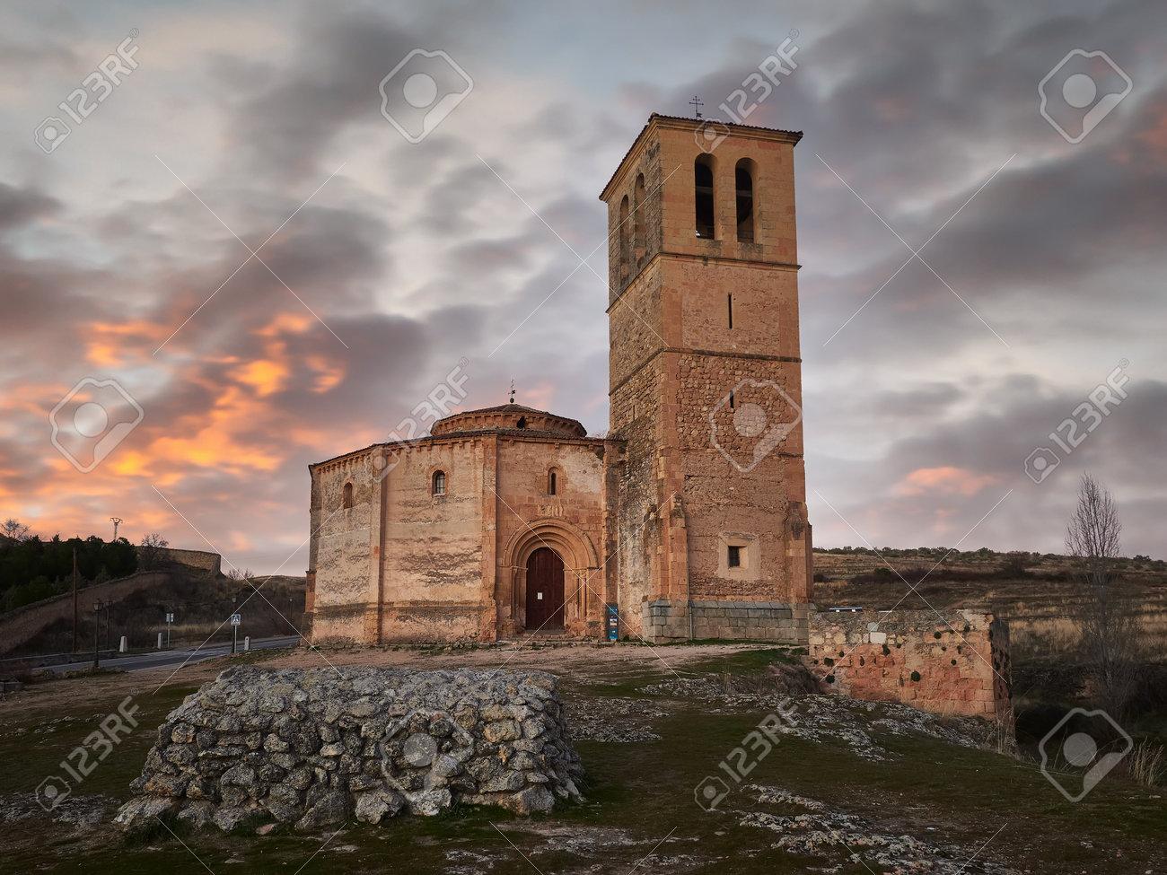 Church of La Veracruz, Segovia, Castilla y Leon, Spain - 164723852