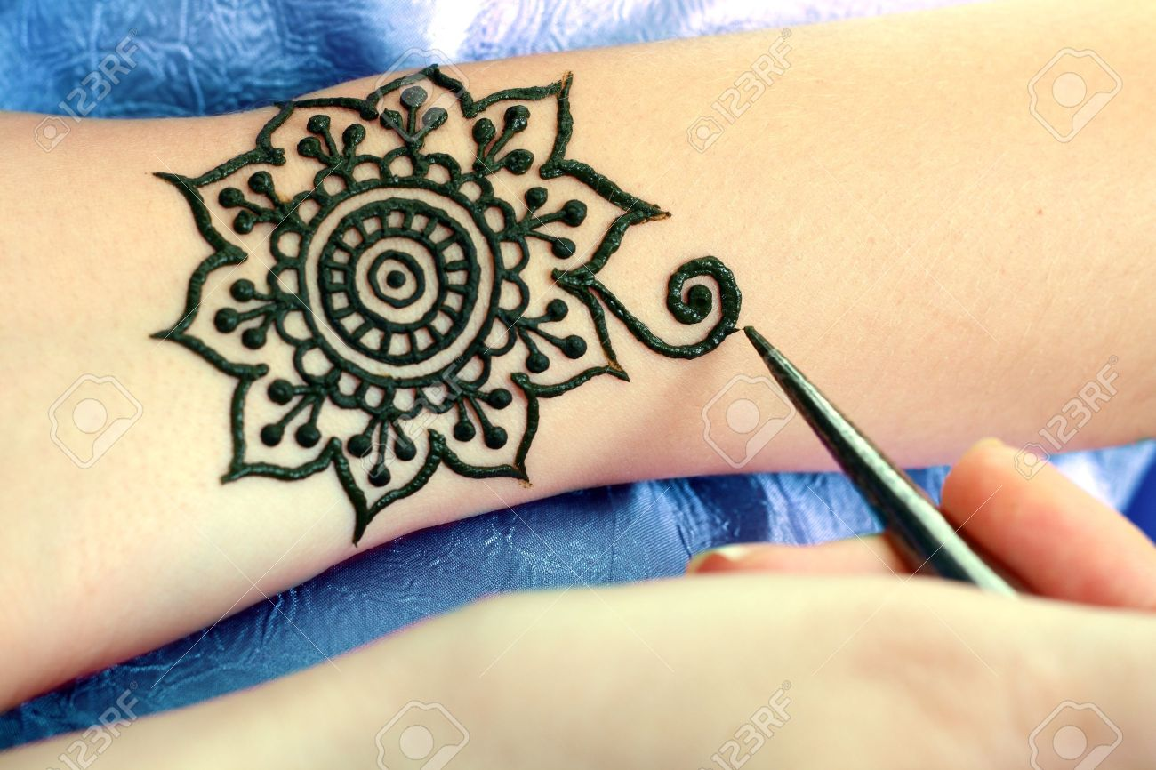 Татуировка из хны фото для подростков