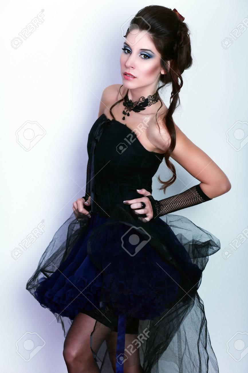 Popolare Stile Vittoriano Moda HR83 » Regardsdefemmes DM32
