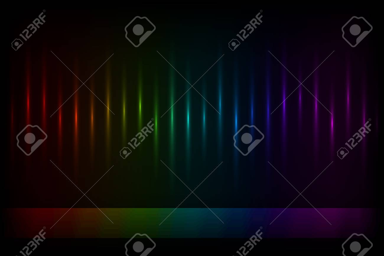 Vertical color lights background with copy space Stock Vector - 14432978