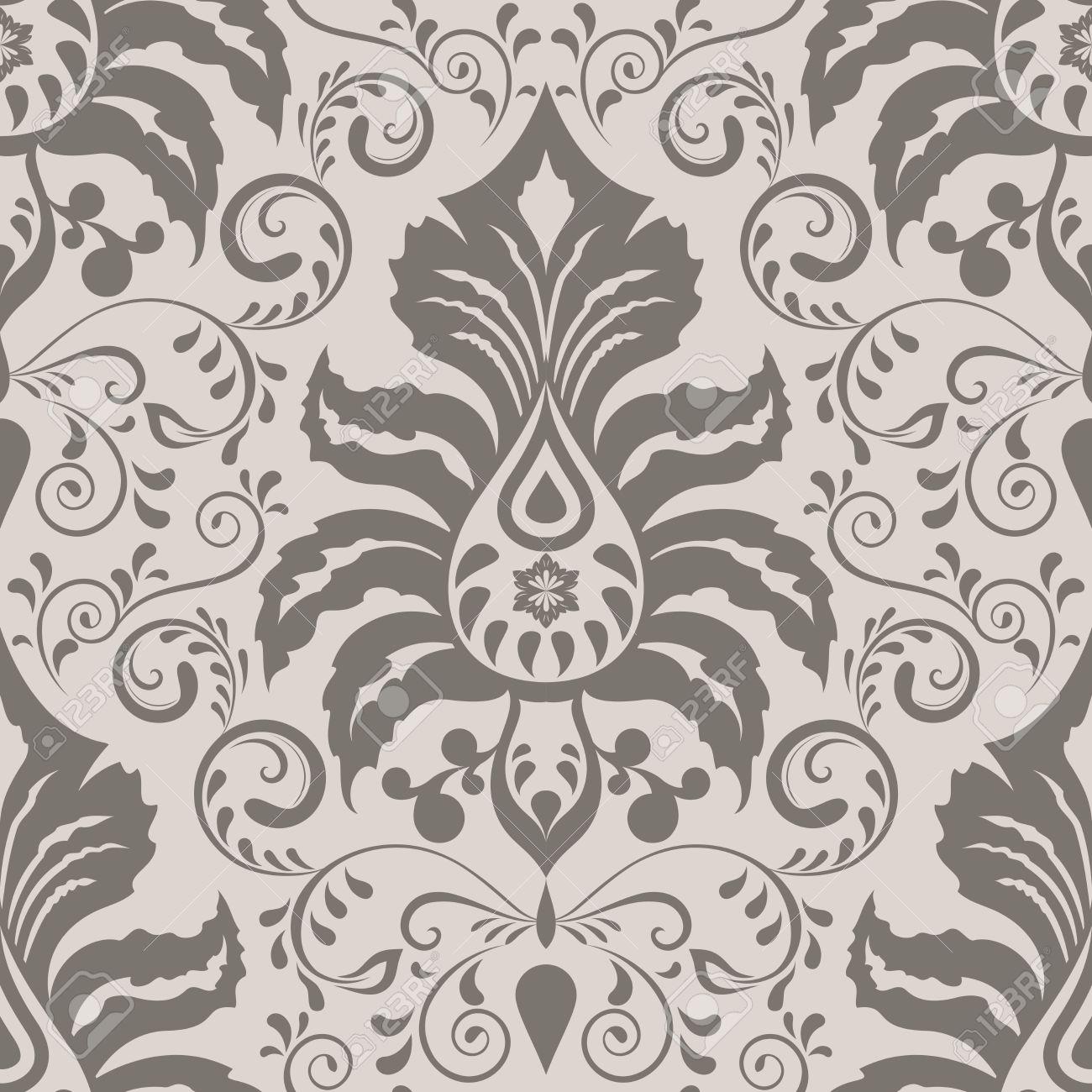 Charmant Papier Peint Fleuri Vintage #15: Etonnant Papier Peint Fleuri Vintage #1: Papiers Peints Vintage