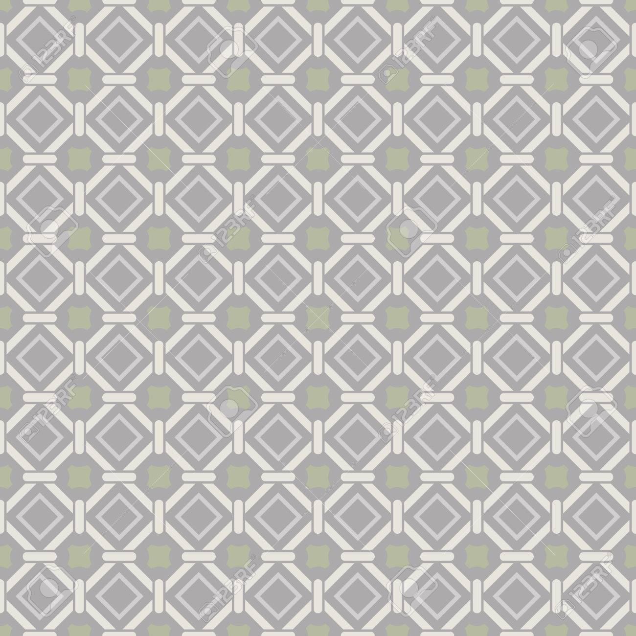 Seamless Beige Papier Peint Abstrait De Vecteur Geometrique Clip
