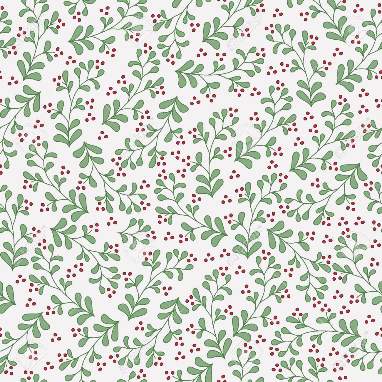 Pflanzenmuster Blumenhintergrund Pflanzen Aquarell Karte