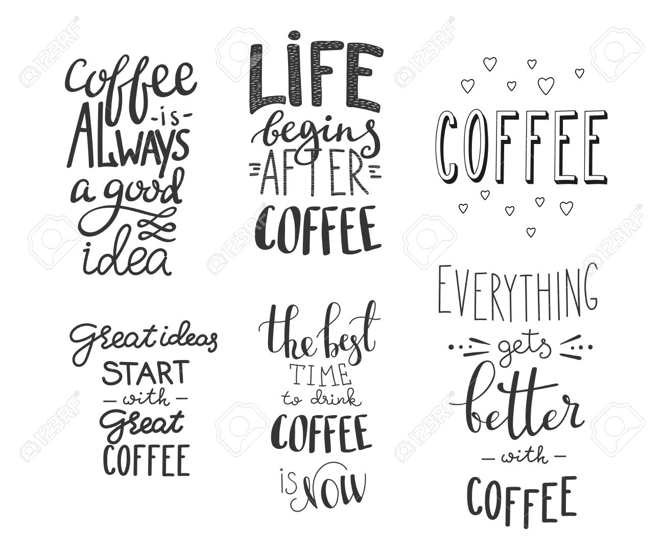 Coffee Quote Coffee Drinker