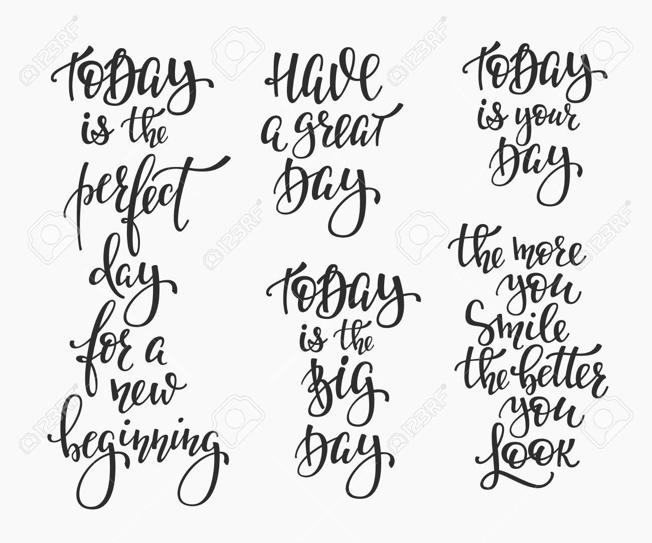 Great Day Quotes Positive Life Style Inspiration Quotes Letteringmotivational