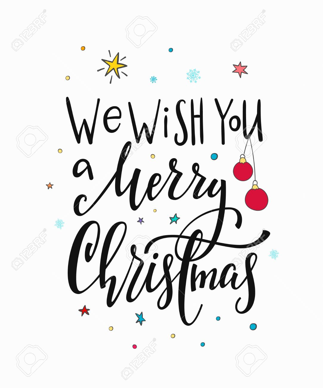 we wish you merry christmas happy new year simple lettering royalty free cliparts vectors and stock illustration image 85649374 we wish you merry christmas happy new year simple lettering