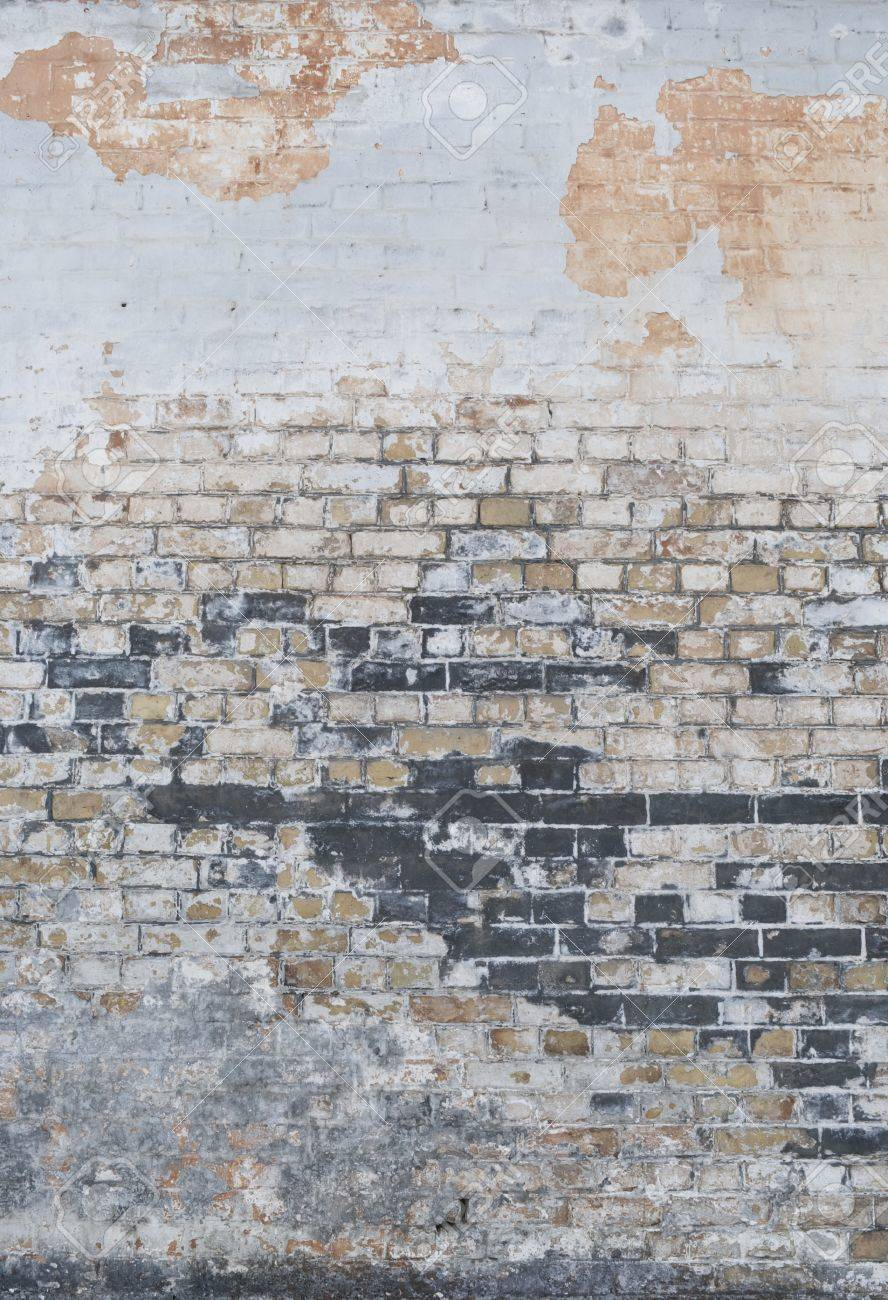 Background of vintage brick wall with  stucco texture Stock Photo - 17514639