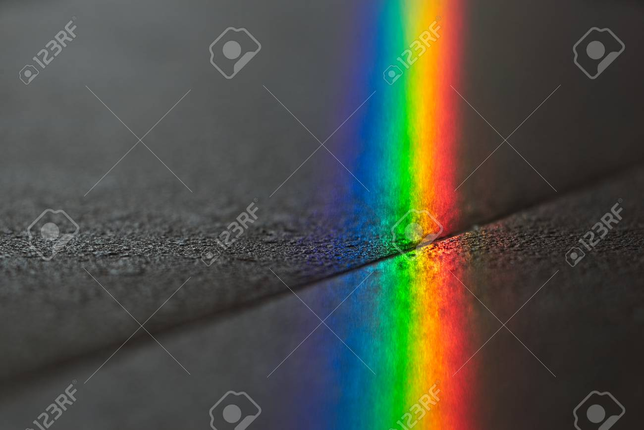 Close up macro photo of so beautiful rainbow glare spectrum lighting specular reflection on the floor & Close Up Macro Photo Of So Beautiful Rainbow Glare Spectrum Lighting ...