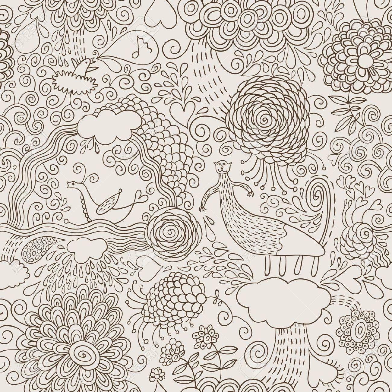 hand draw doodles Stock Vector - 10346809