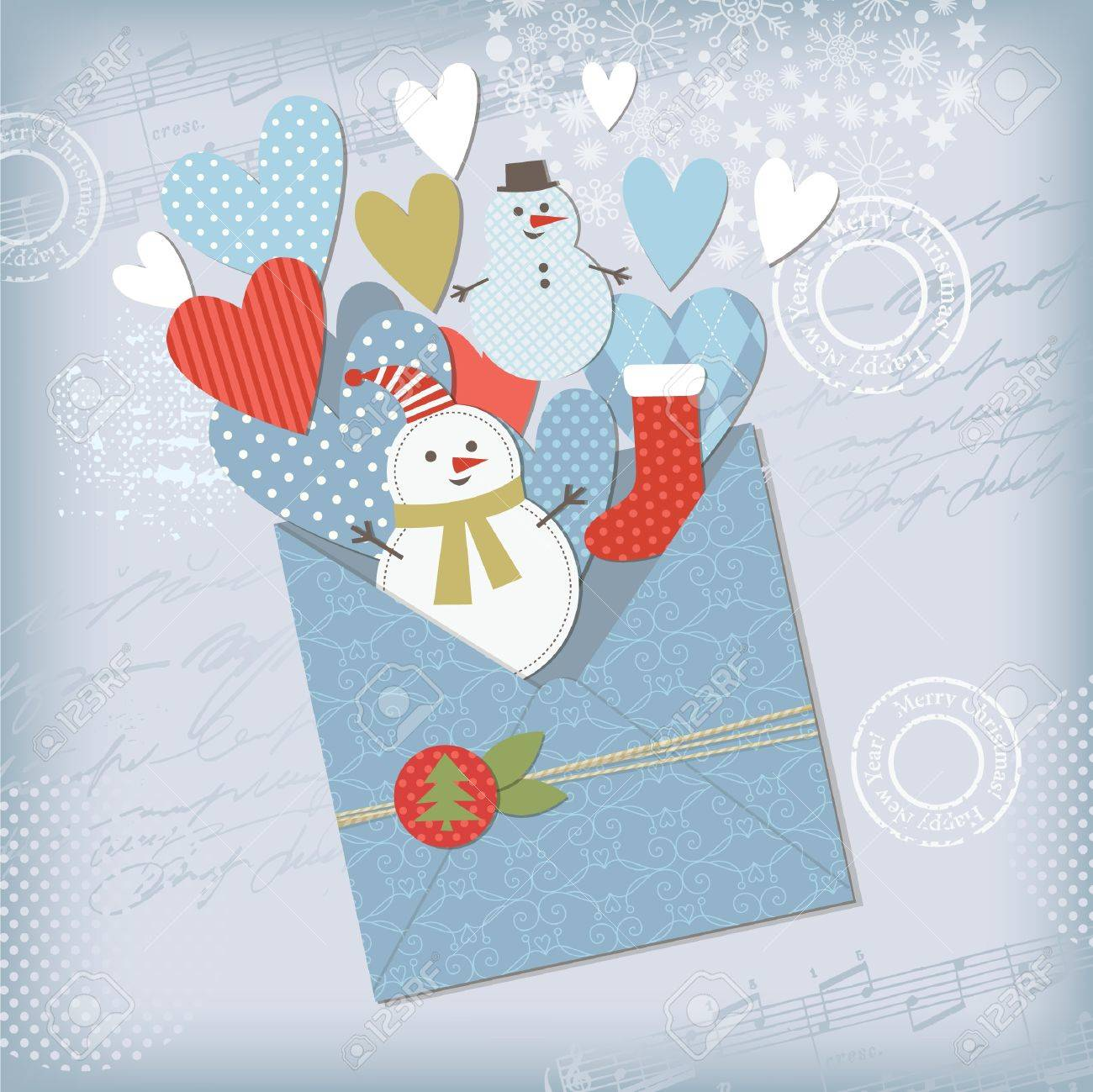Seasons Greetings Stock Vector - 11213558