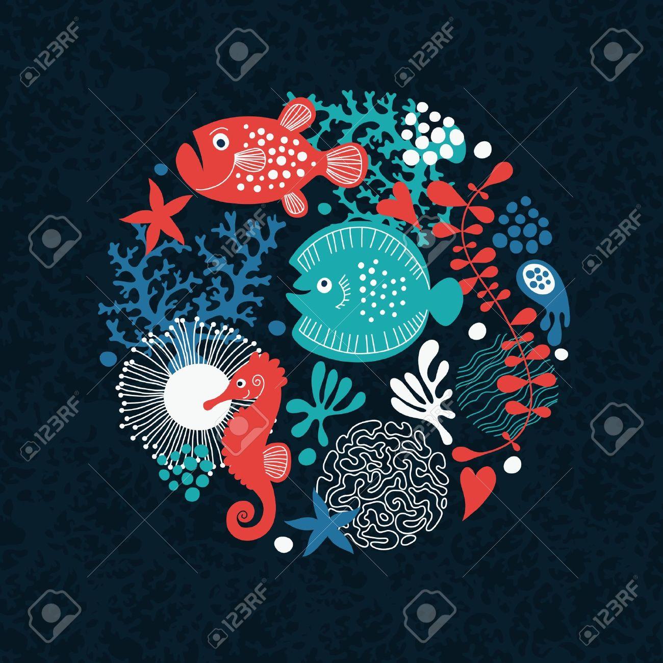 sea life Stock Vector - 12445963