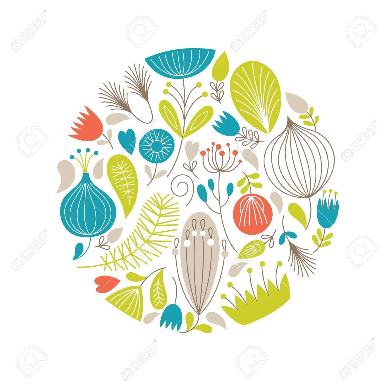 Floral illustration Stock Vector - 20058562
