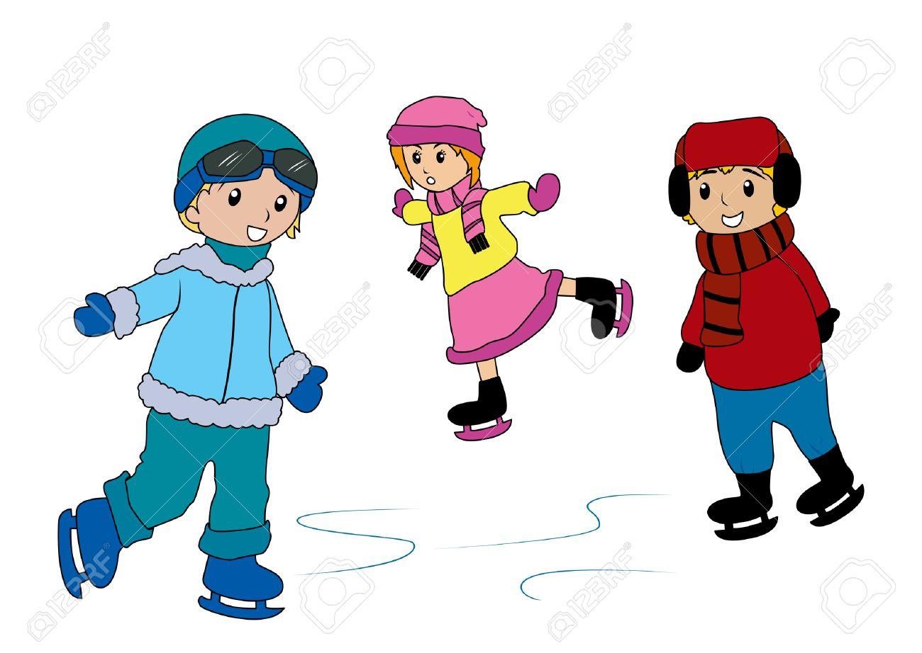 Résultats de recherche d'images pour «dessin de patin à glace»