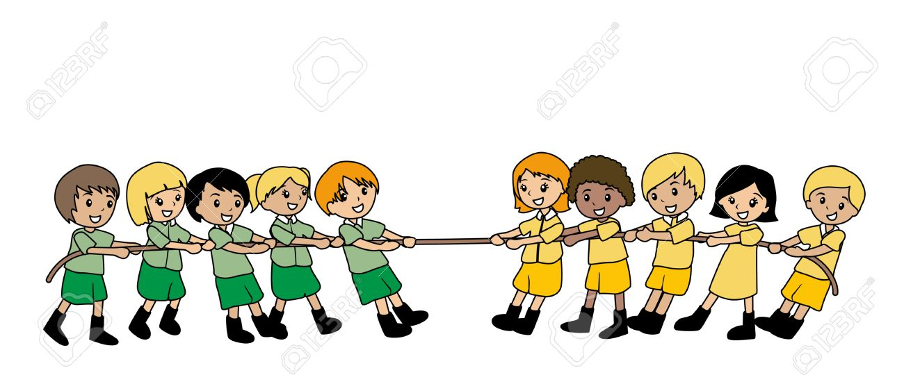 illustration of kids playing tug of war royalty free cliparts rh 123rf com tug of war clipart free tug o war clipart