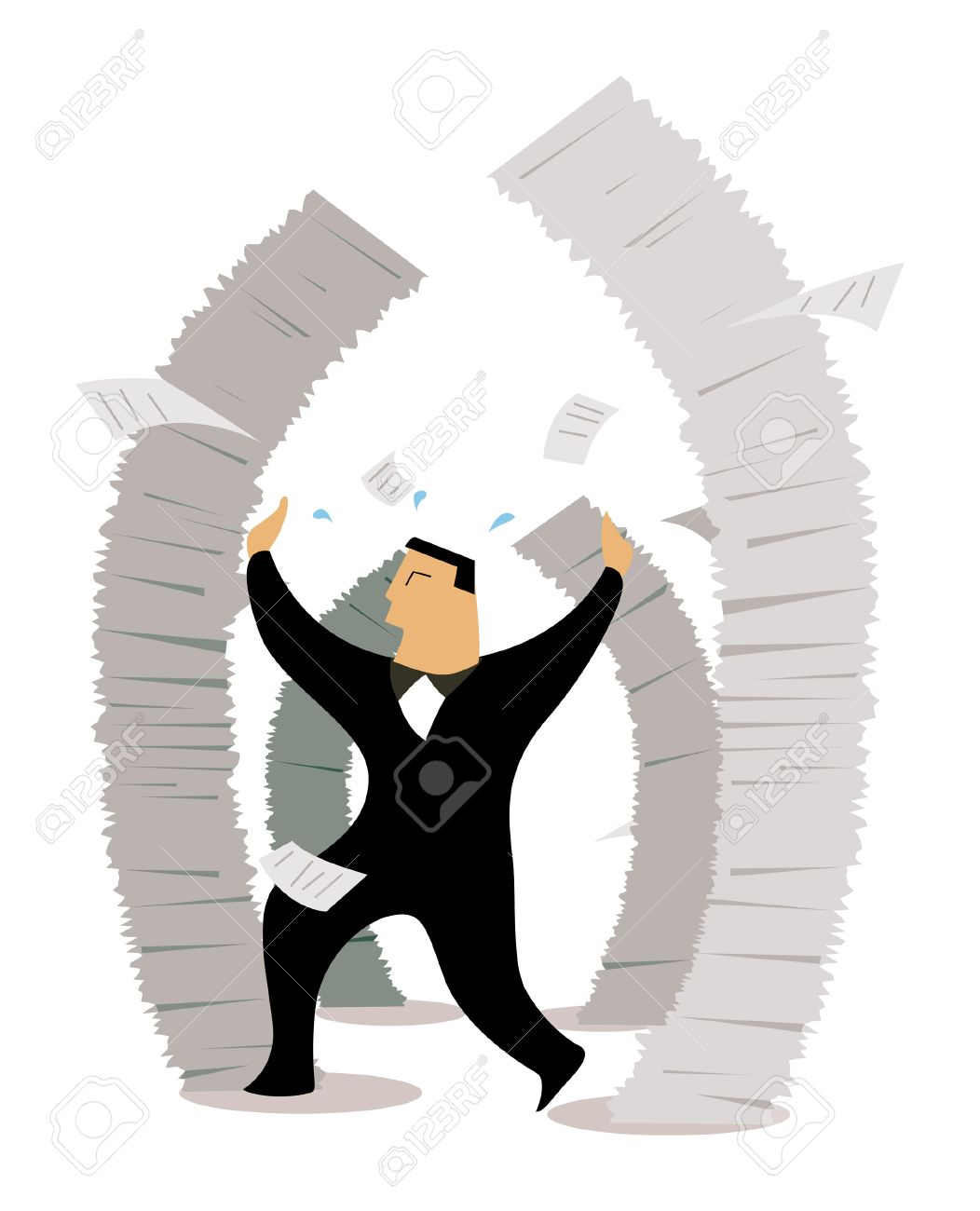 business concepts job stress royalty cliparts vectors and business concepts job stress stock vector 2430048