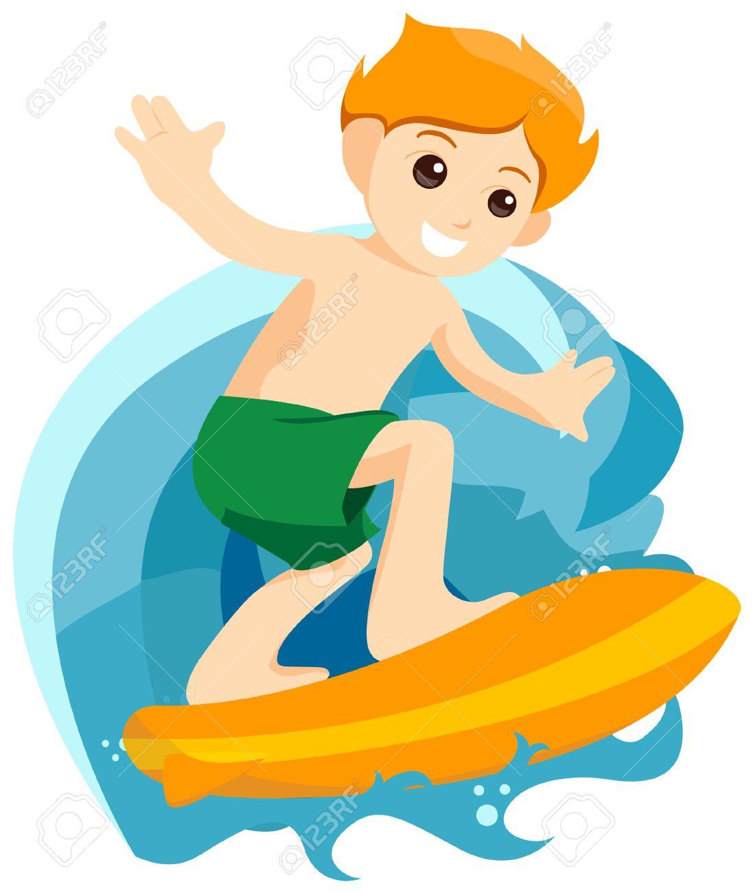 Surfer Clip Art