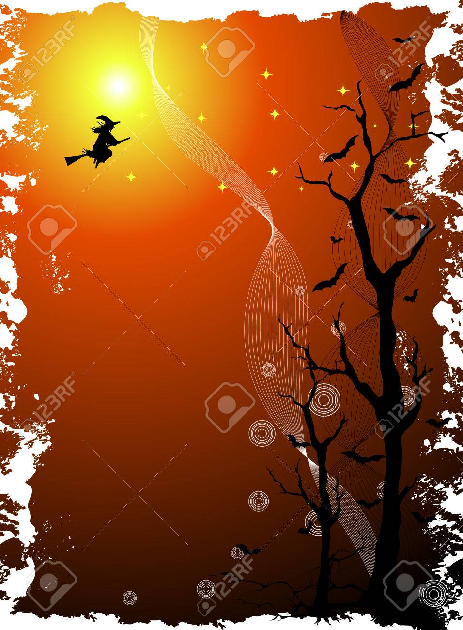 Halloween Background Stock Vector - 3647186