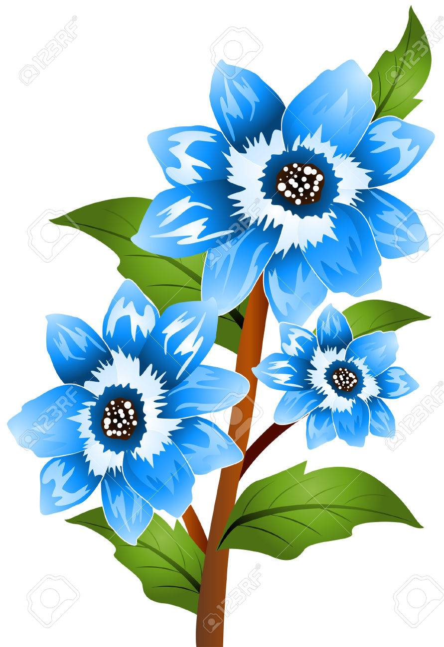 blue bonnet with clipping path royalty free cliparts vectors and rh 123rf com free texas bluebonnet clipart bluebonnet clipart border