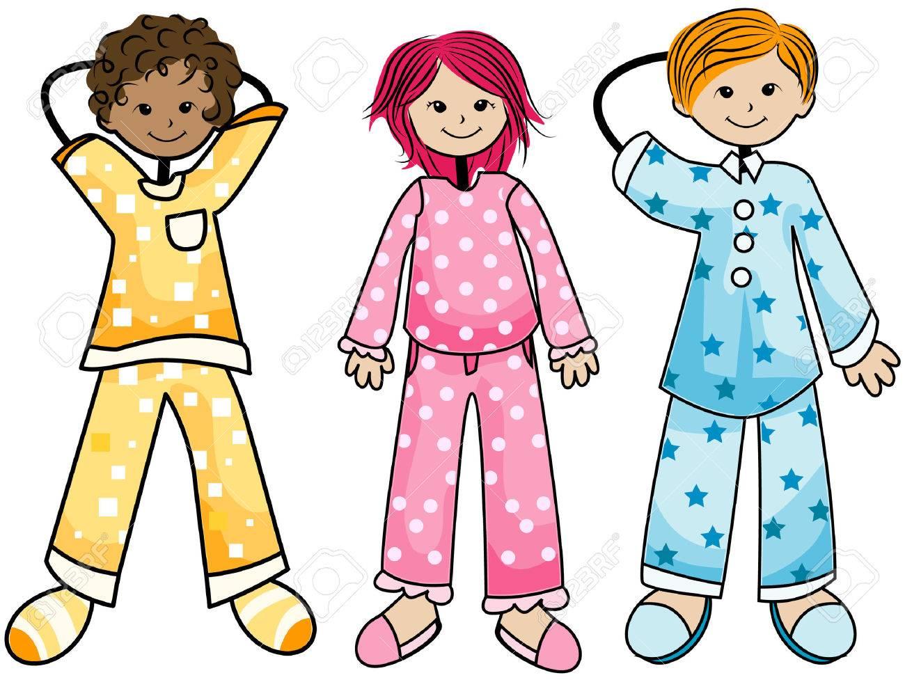 Image result for pajama kids