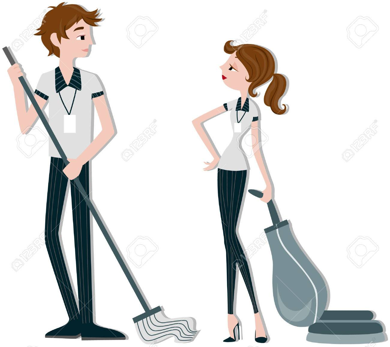 Cleaners Stock Vector - 5138099