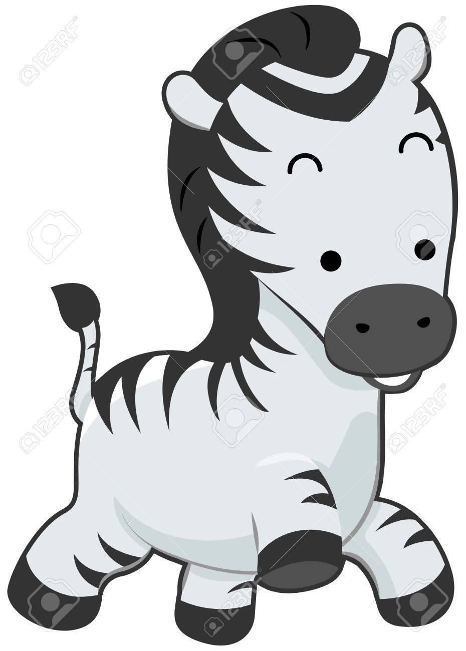 Cute Zebra Stock Photo - 7393558