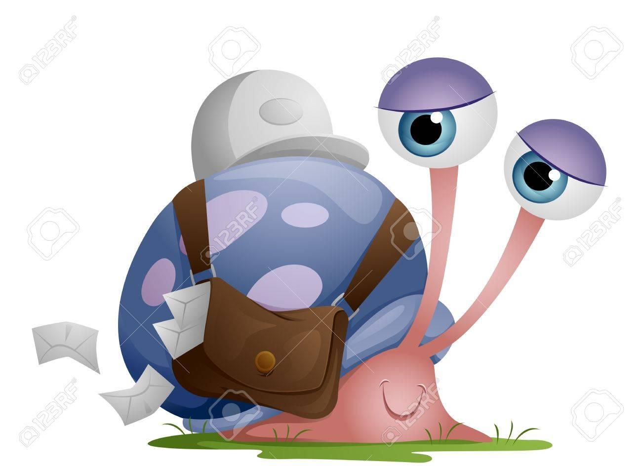 Snail Mailman Stock Photo - 7465176
