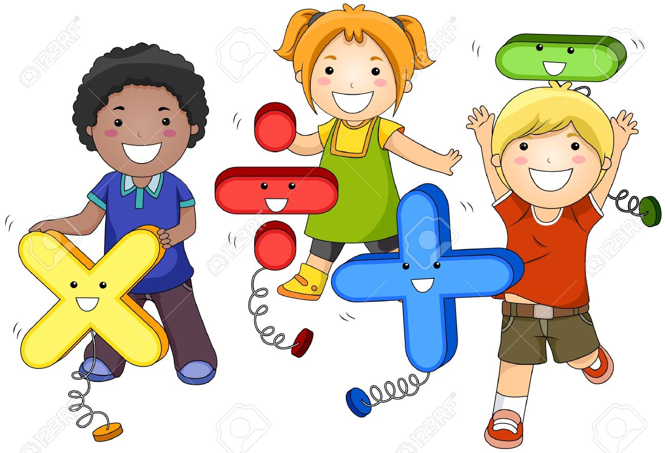 math kids stock photo, picture and royalty free image. image 7615529.
