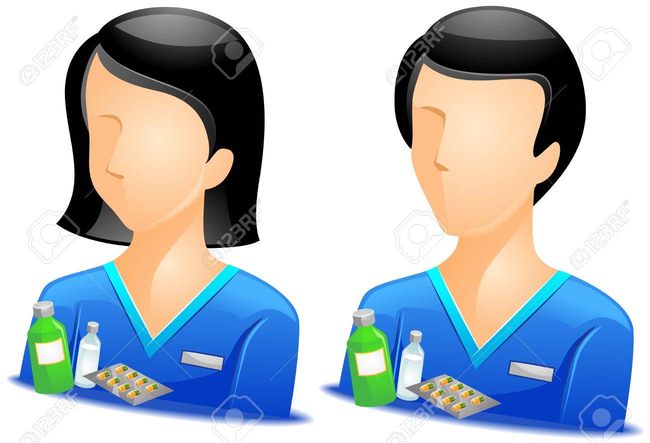 Pharmacist Avatars Stock Photo - 7936797