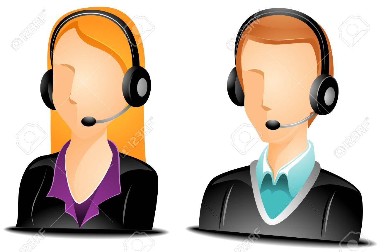 call center agent avatars stock photo picture and royalty free rh 123rf com police call center clipart call center clipart