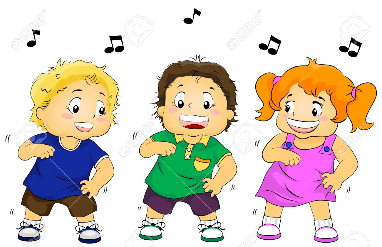 illustration featuring dancing kids stock photo picture and royalty rh 123rf com clipart kids dancing clipart kids dancing black and white