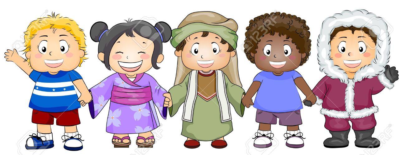 Resultado de imagen de imagen de niños razas