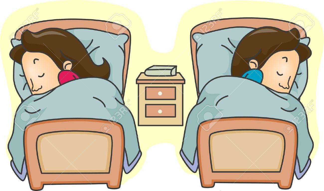 ماذا يحدث في جسم الرجل المتزوج إذا نام بعد جماع زوجته و لم يغتسل