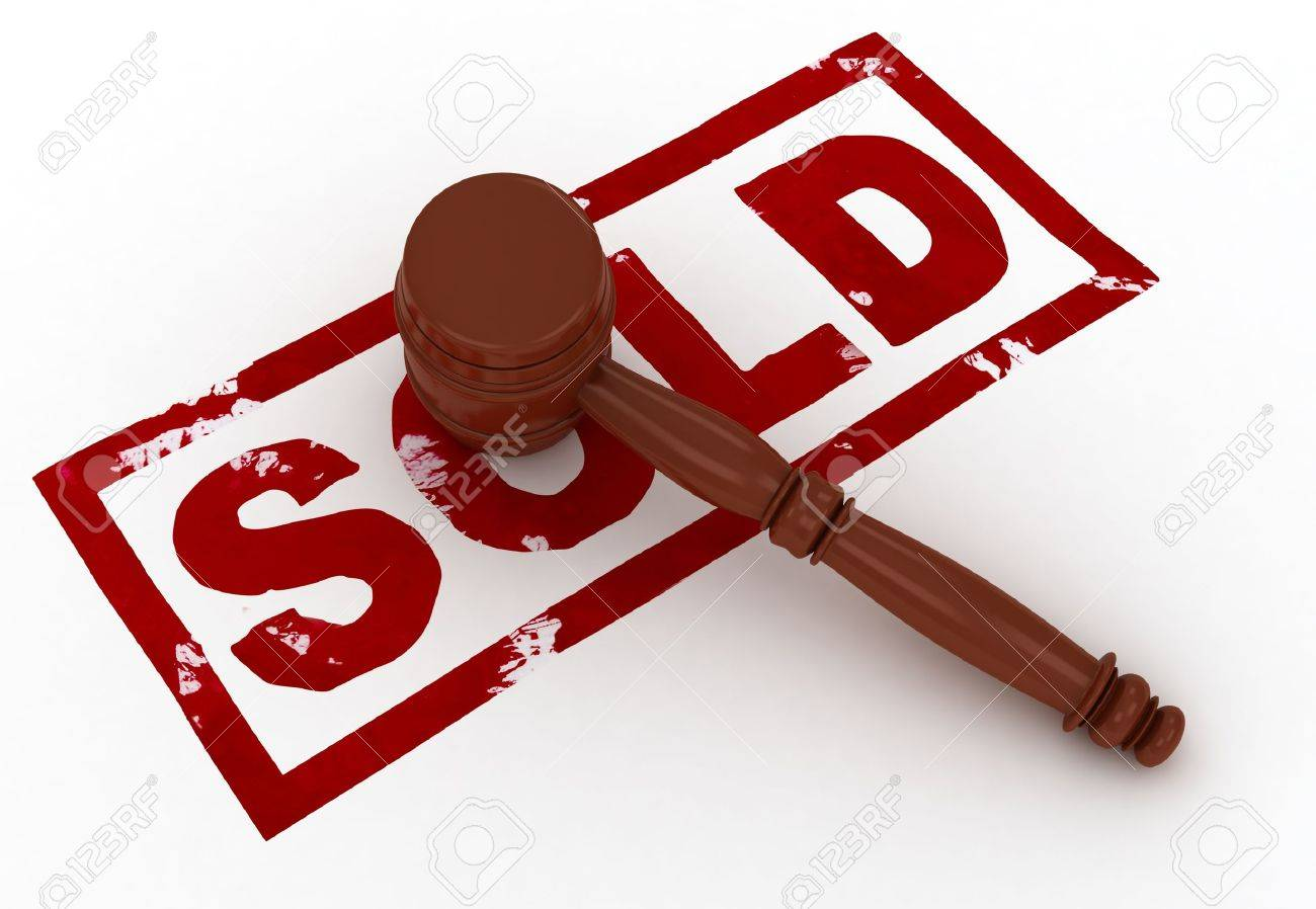 Hammer; Justice; Sold; Gavel; Auction; Bid; Isolat Royalty Free ...