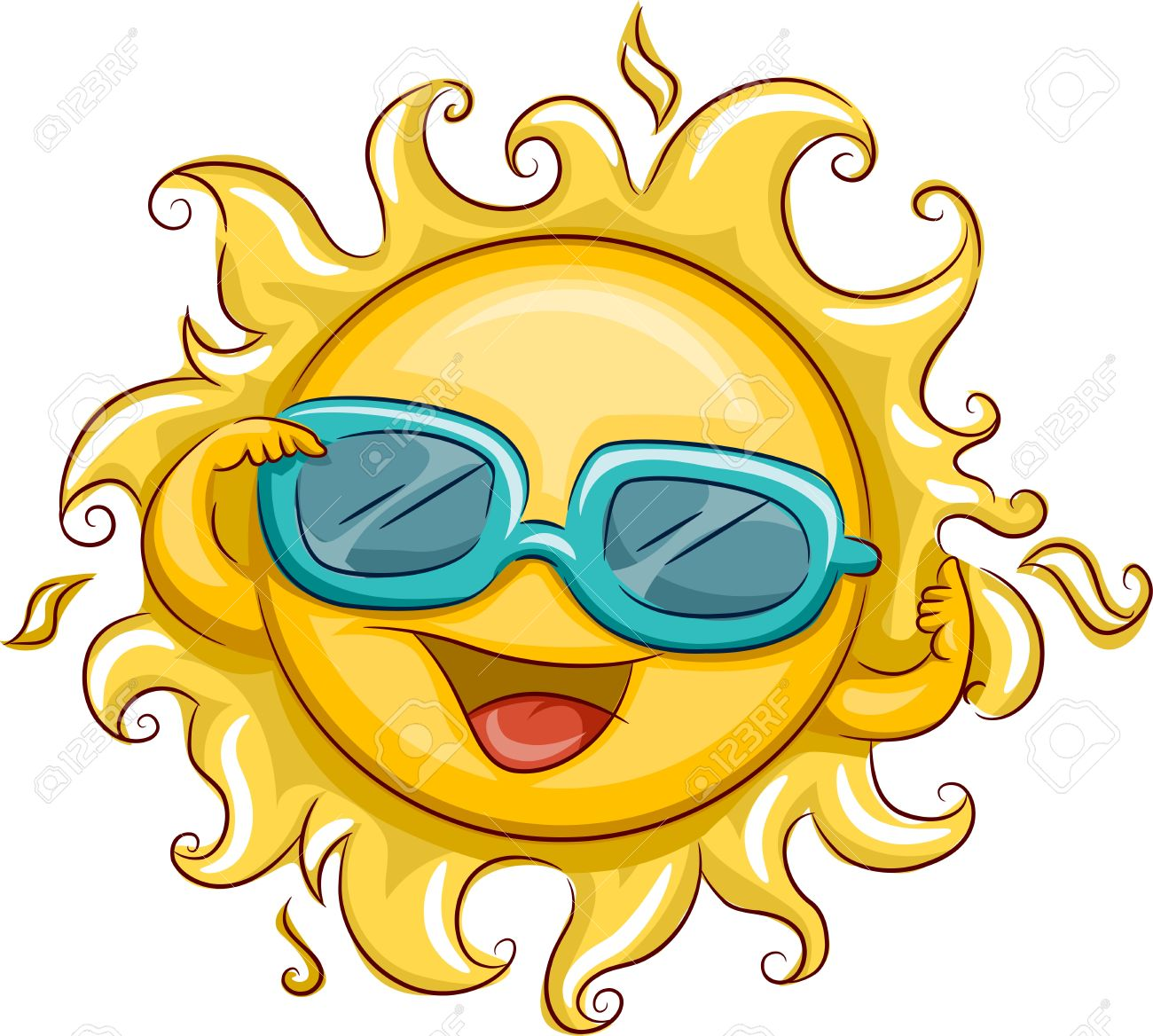 Smiling sun with sunglasses - Cool Sun Illustration Of A Smiling Sun Wearing Sunglasses Source Illustration Of The Sun Wearing Sunglasses Stock Photo Picture