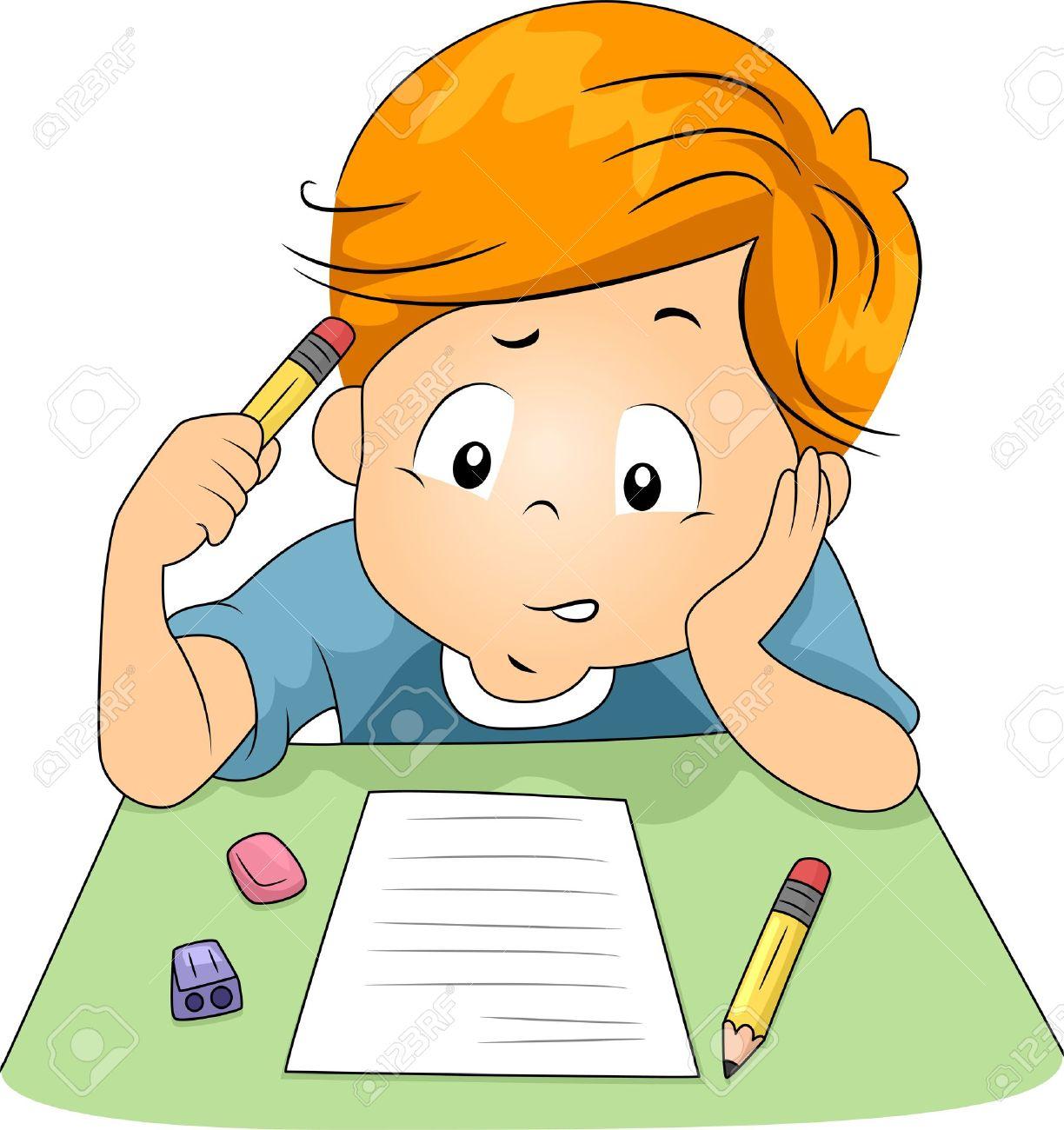 Иллюстрация kid Отвечая Контрольные вопросы Фотография картинки  Иллюстрация kid Отвечая Контрольные вопросы Фото со стока 10322209