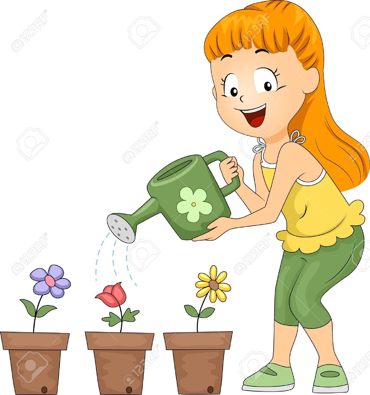 Resultado de imagen para water the plants animado