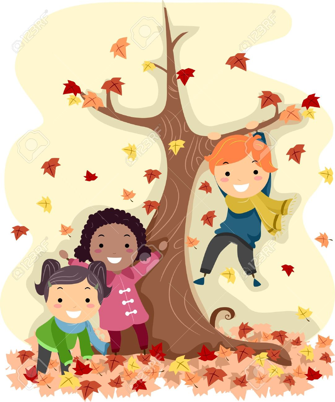 Image result for autumn cartoon