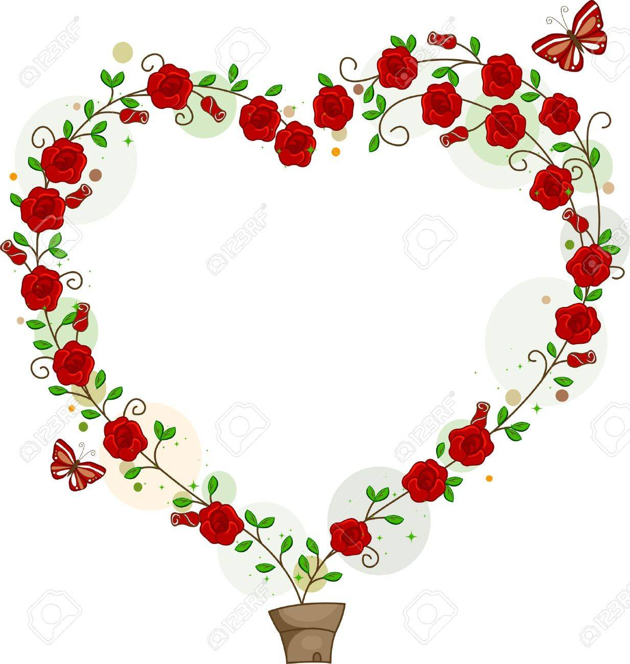 hearts and flowers stock photos images. royalty free hearts and, Beautiful flower