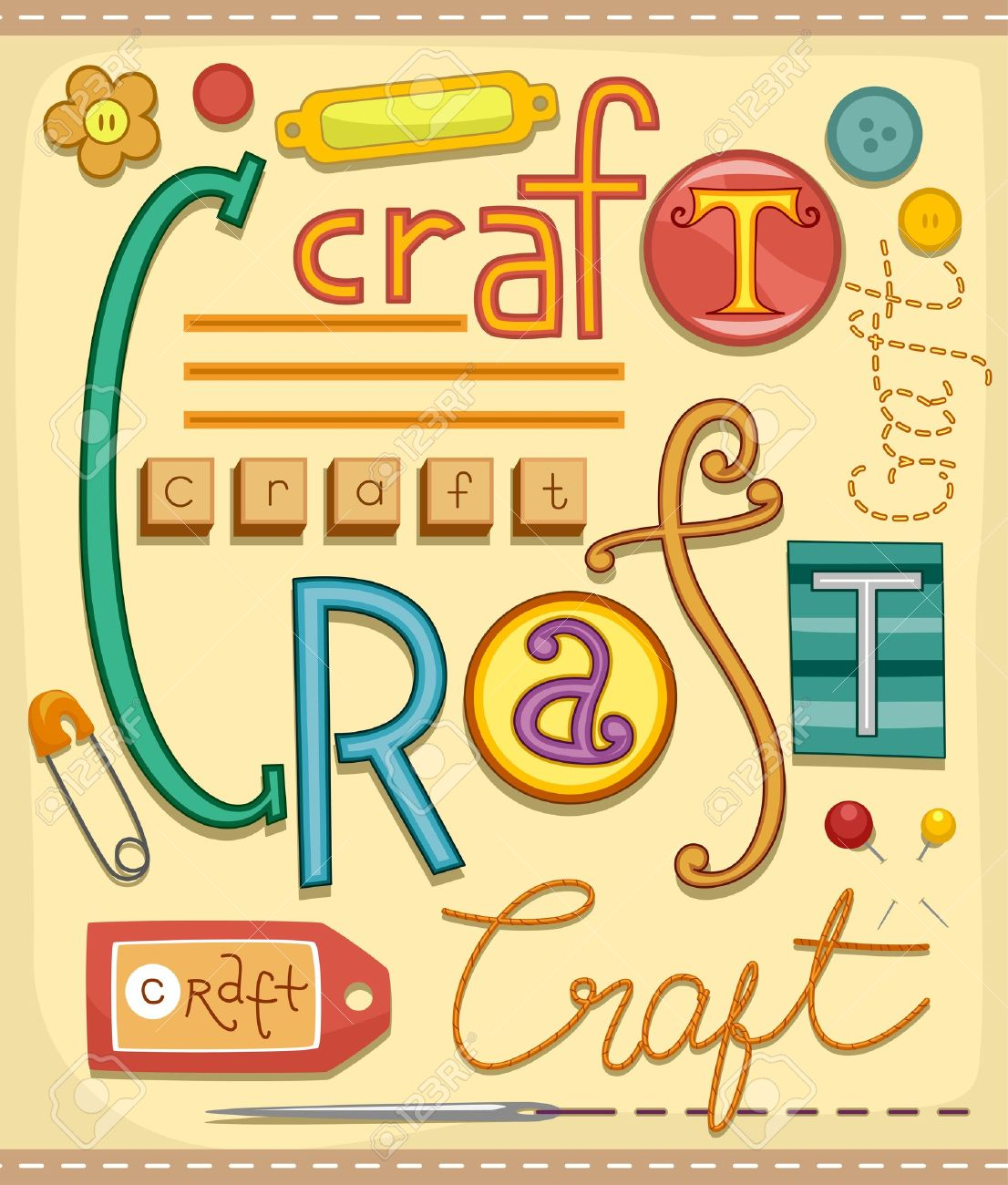 arts and crafts : Illustration