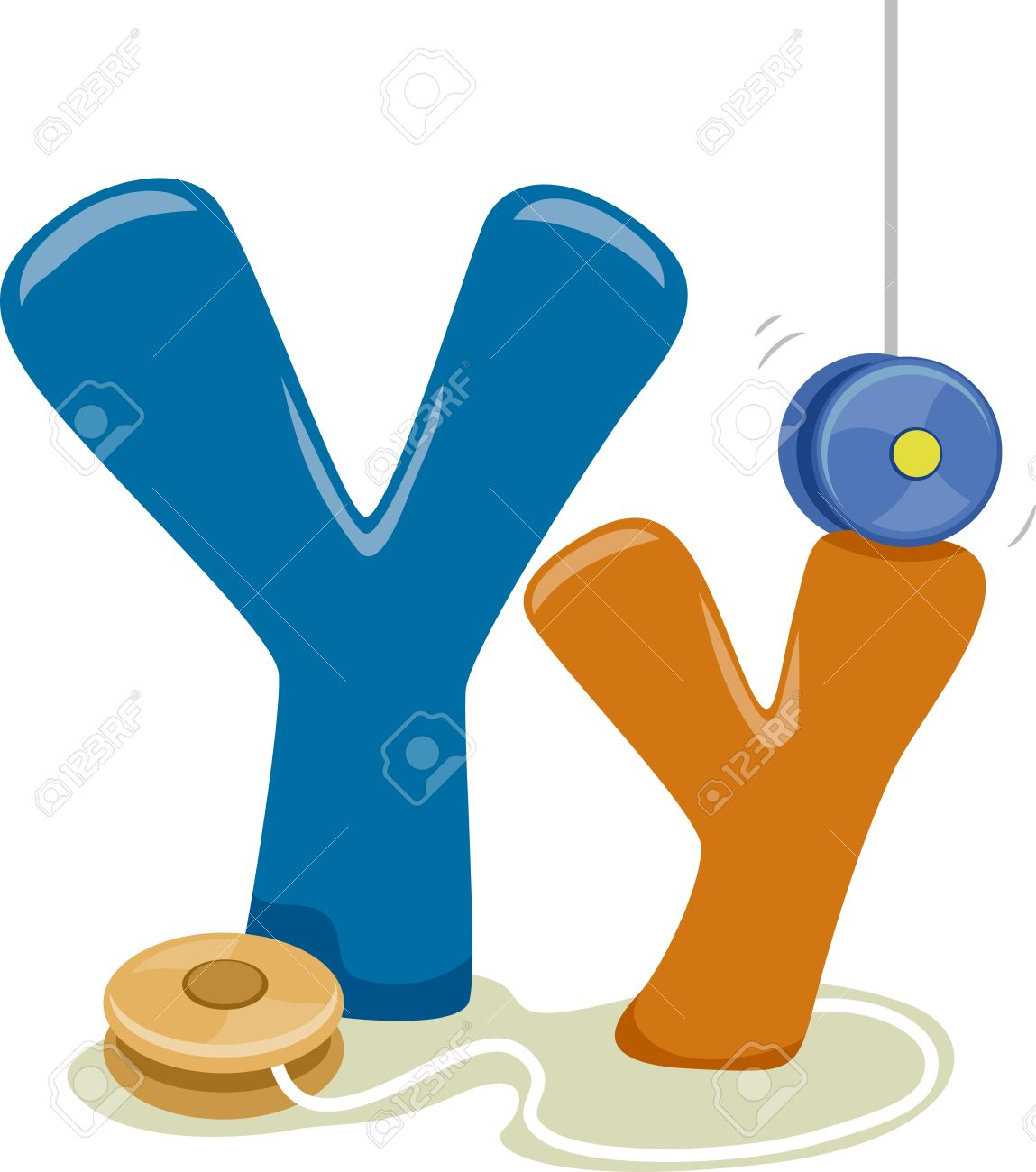 illustration featuring the letter y stock photo, picture and royalty