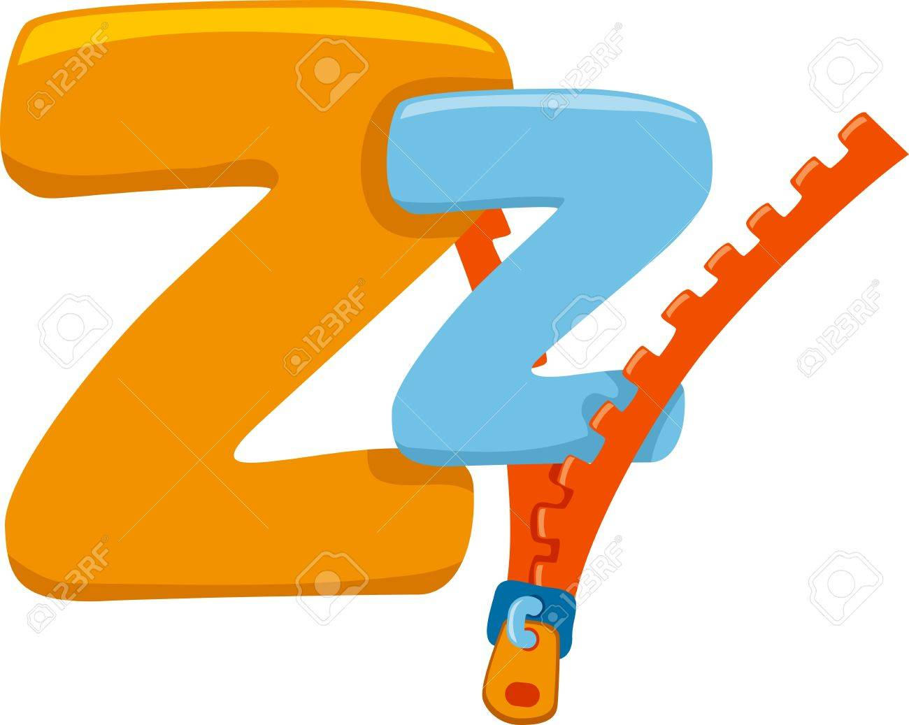 illustration featuring the letter z stock photo, picture and royalty