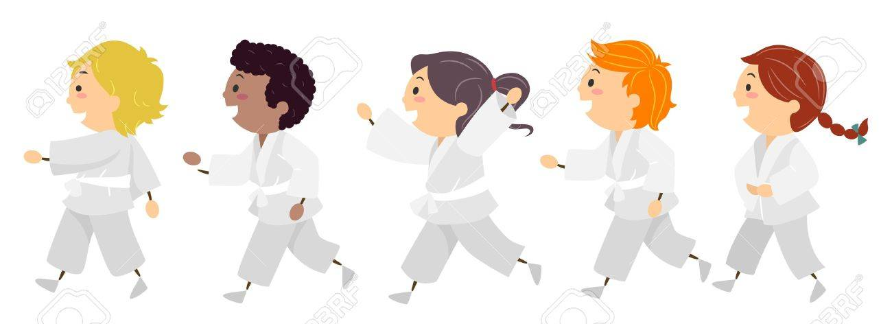Karate Stock Vectors, Royalty Free Karate Illustrations ...