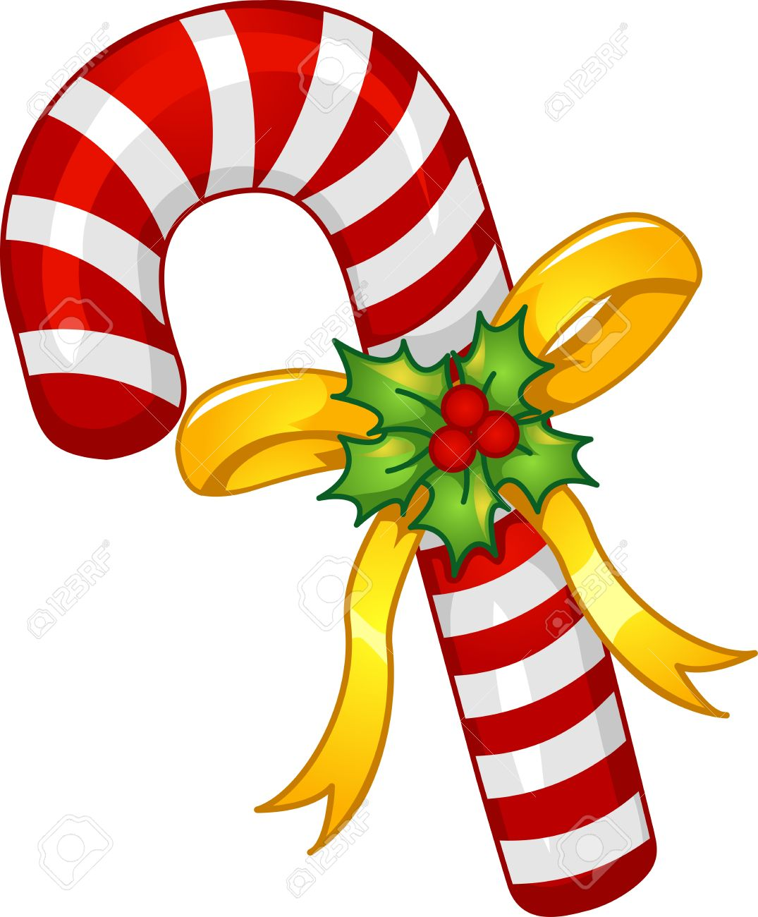 mascot illustration of a candy cane with a poinsettia wrapped rh 123rf com free christmas candy cane clipart free christmas candy cane clipart