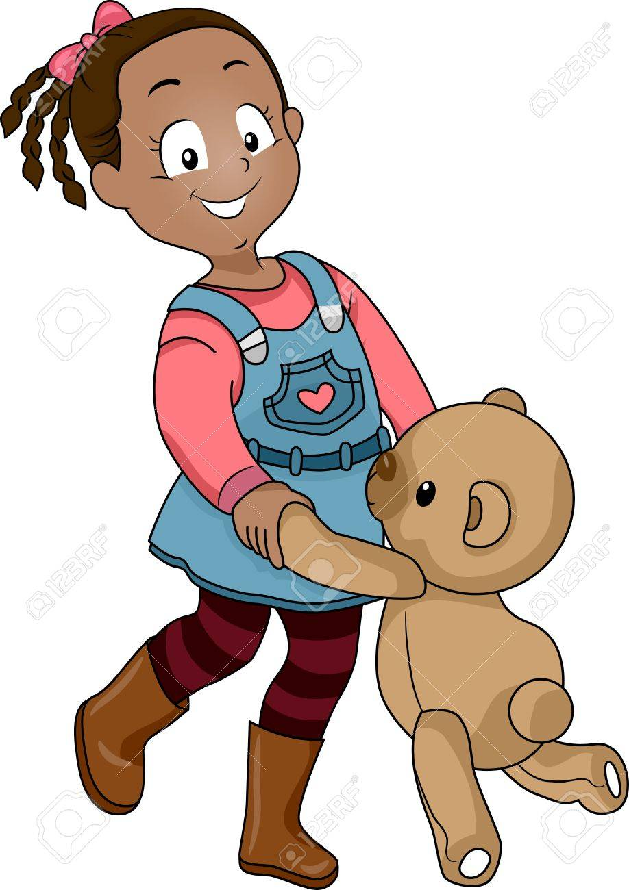 girl bear clipart | Logo More