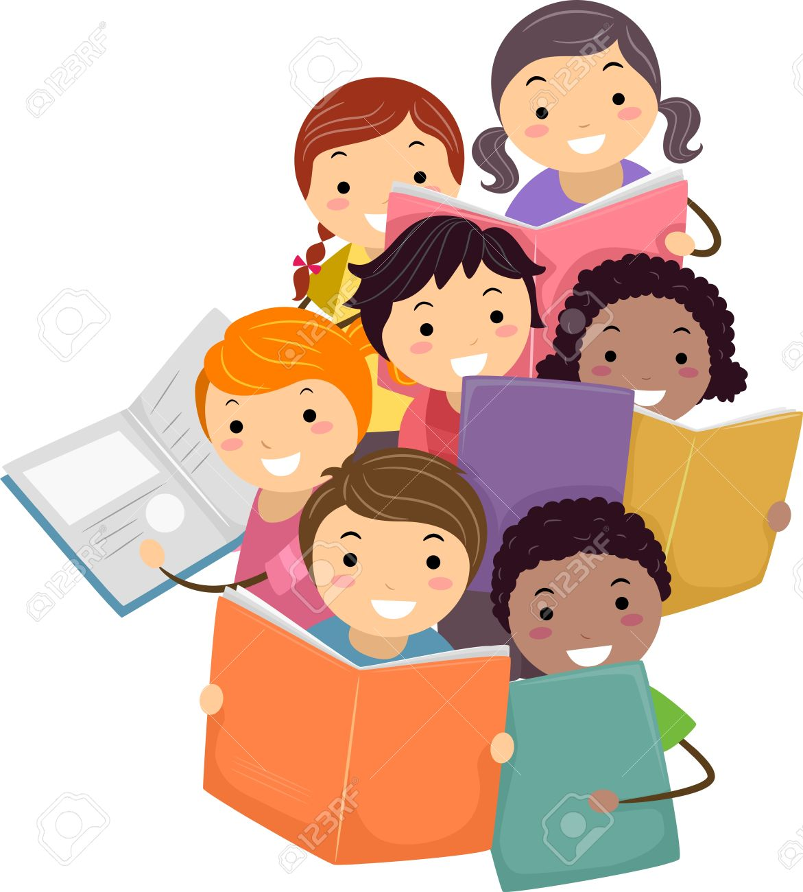 Slikovni rezultat za children book club clipart