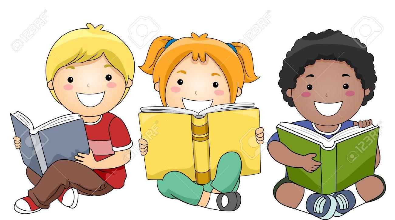 Image result for niños leyendo