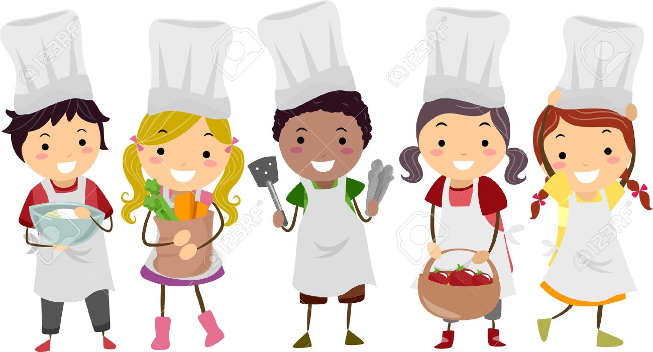 2,016 Chef Cartoon Female Stock Vector Illustration And Royalty ...
