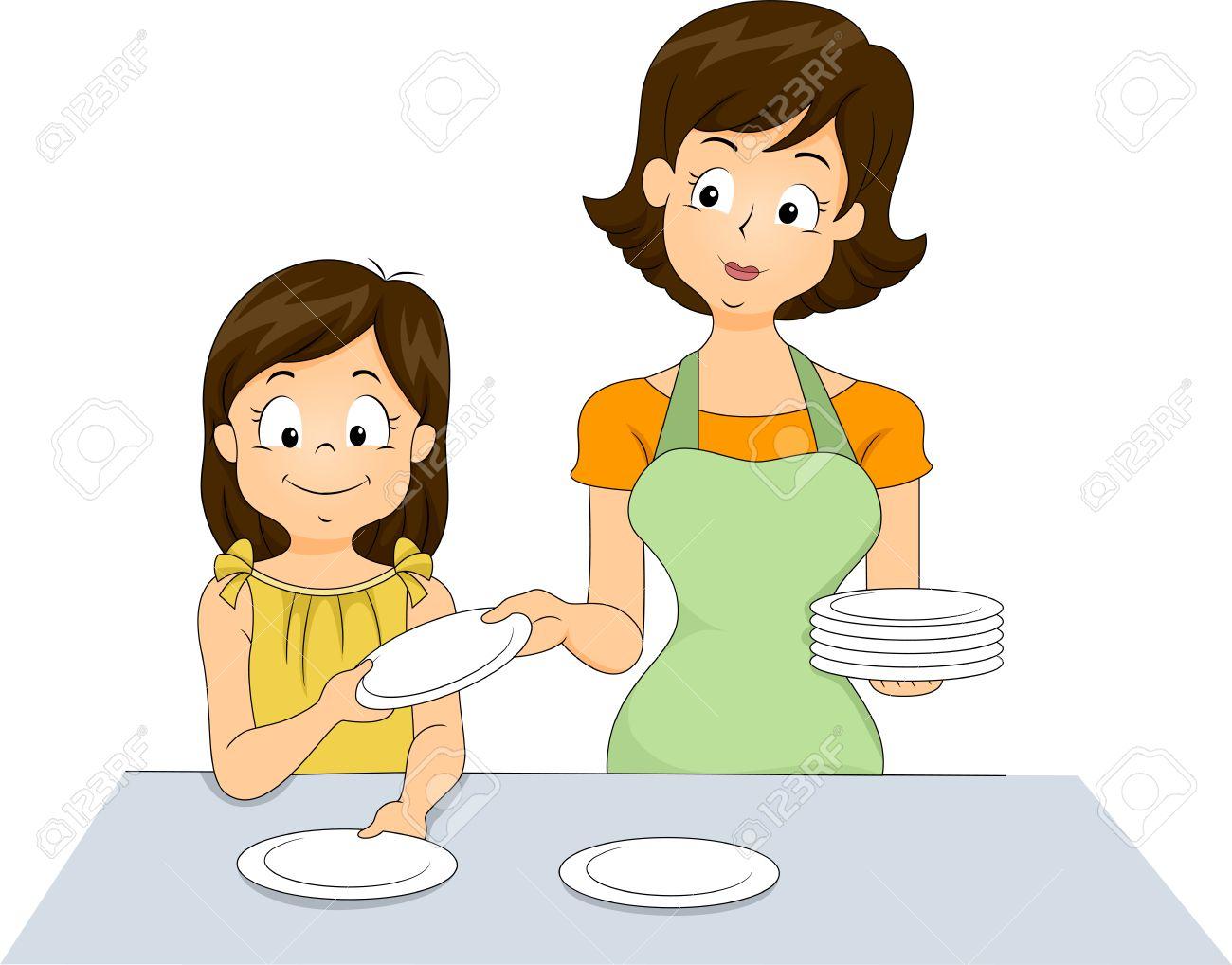 Resultado de imagen para set the table  animado